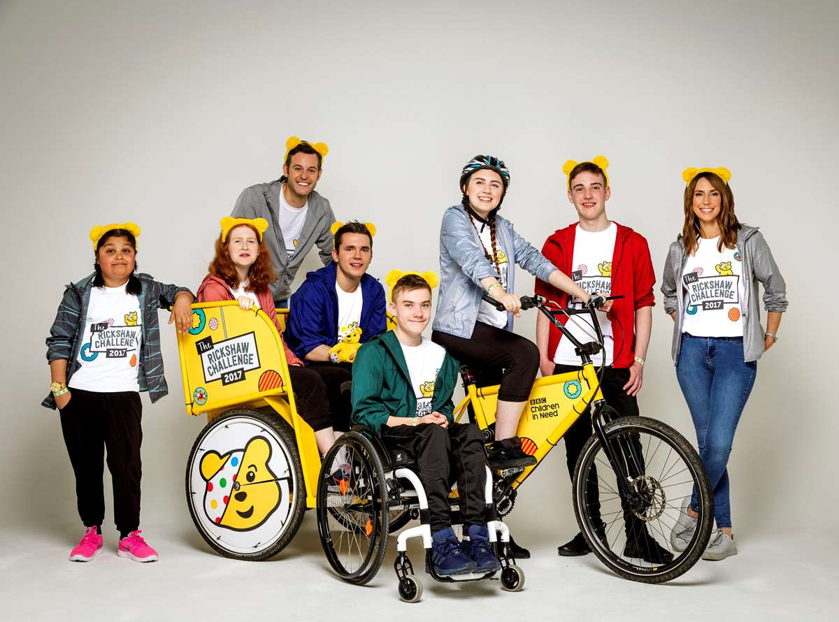Team Rickshaw prepare to embark on another epic fundraising journey