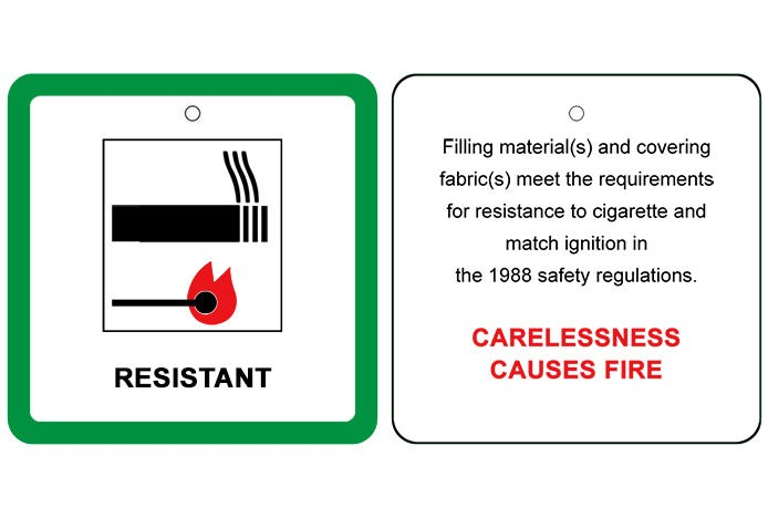 Fire-Resistance Label