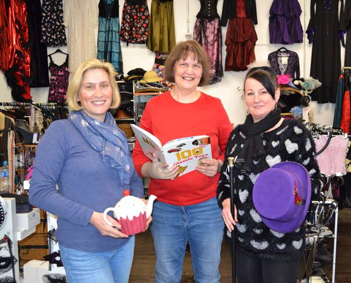 Traders re-open for business at the newly refurbished Assembly Rooms Emporium