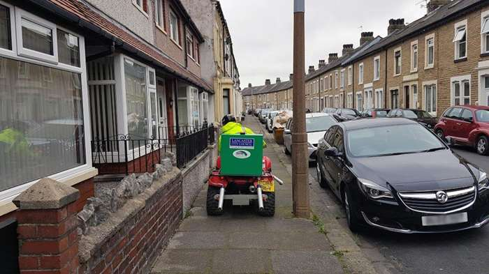Quad bike hits the streets to tackle weeds