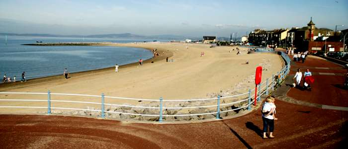 Morecambe North beach