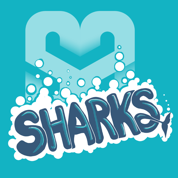 salt ayre sharks logo