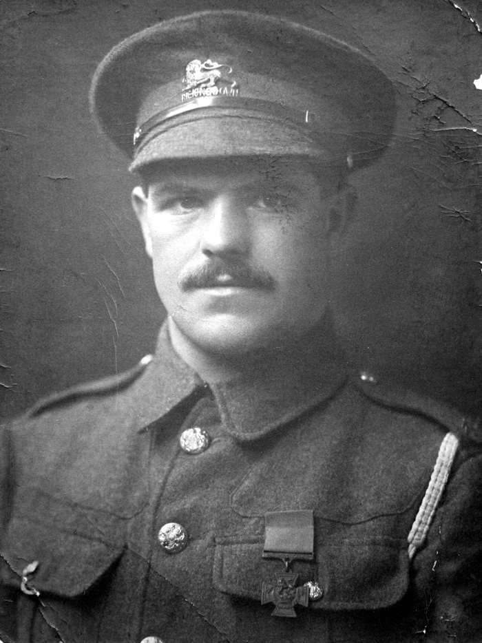 Private Albert Halton VC