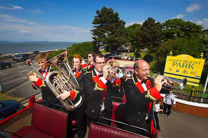 Free summer band concerts in Happy Mount Park