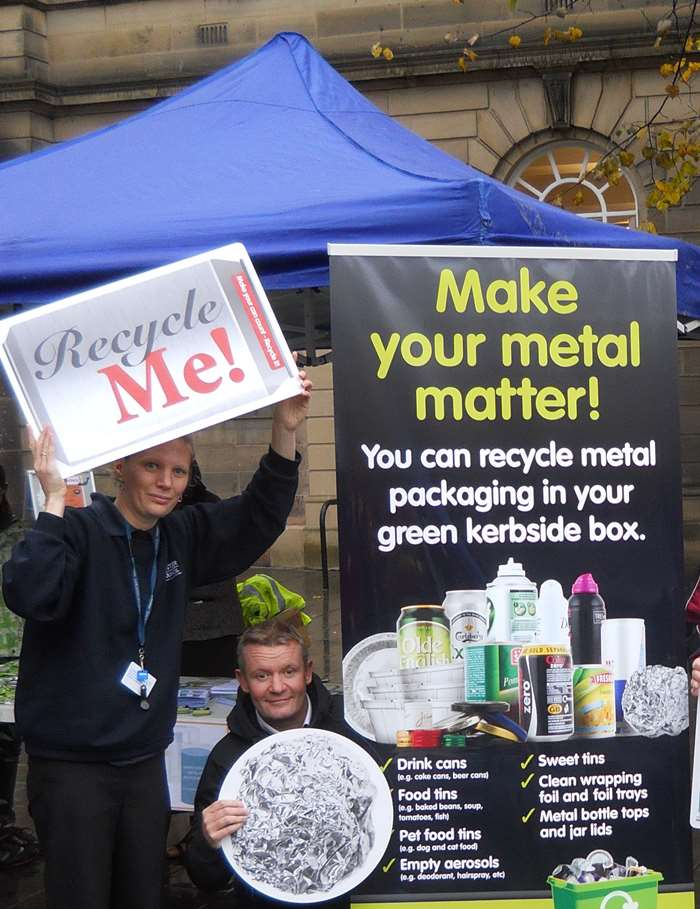 Recycling takes to the road