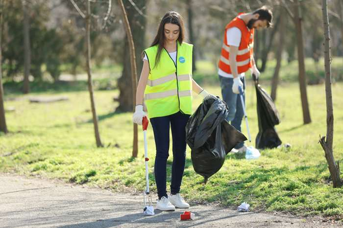 Cleaning up to encourage community pride