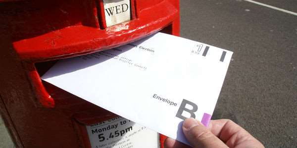 Don't delay in applying for a postal vote