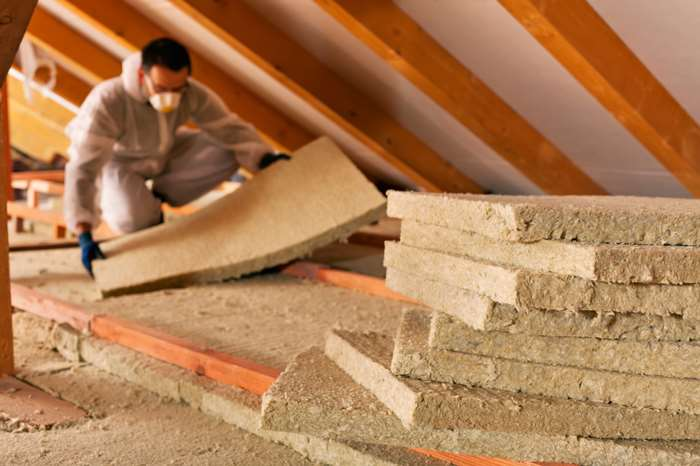 Grants are now available for energy efficiency measures, such as loft insulation