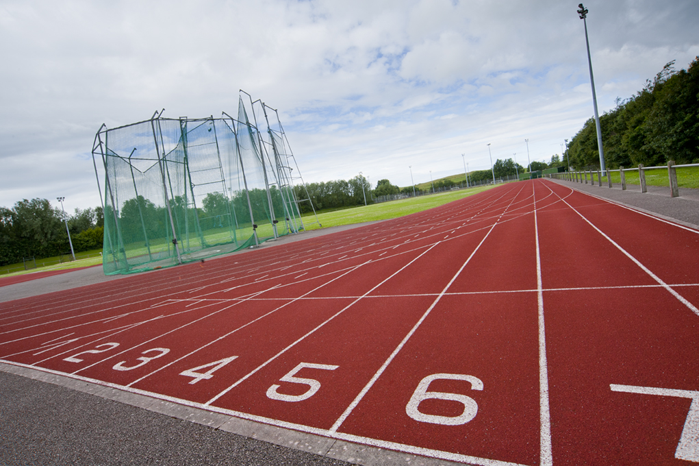 Salt Ayre Athletics Track