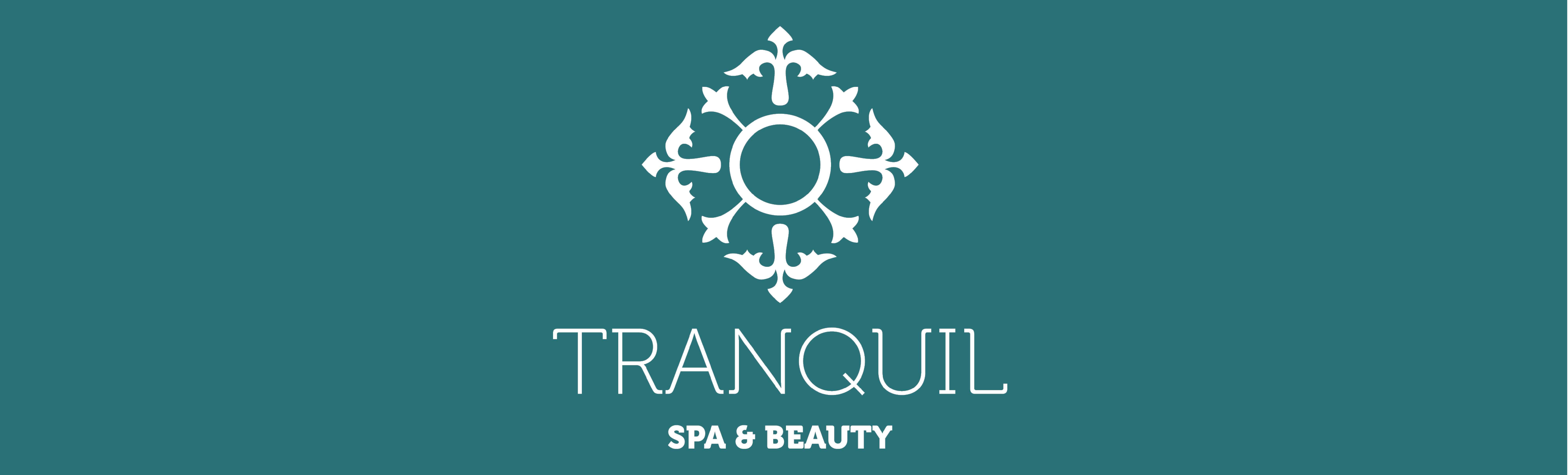 Tranquil Spa Banner - concept visual