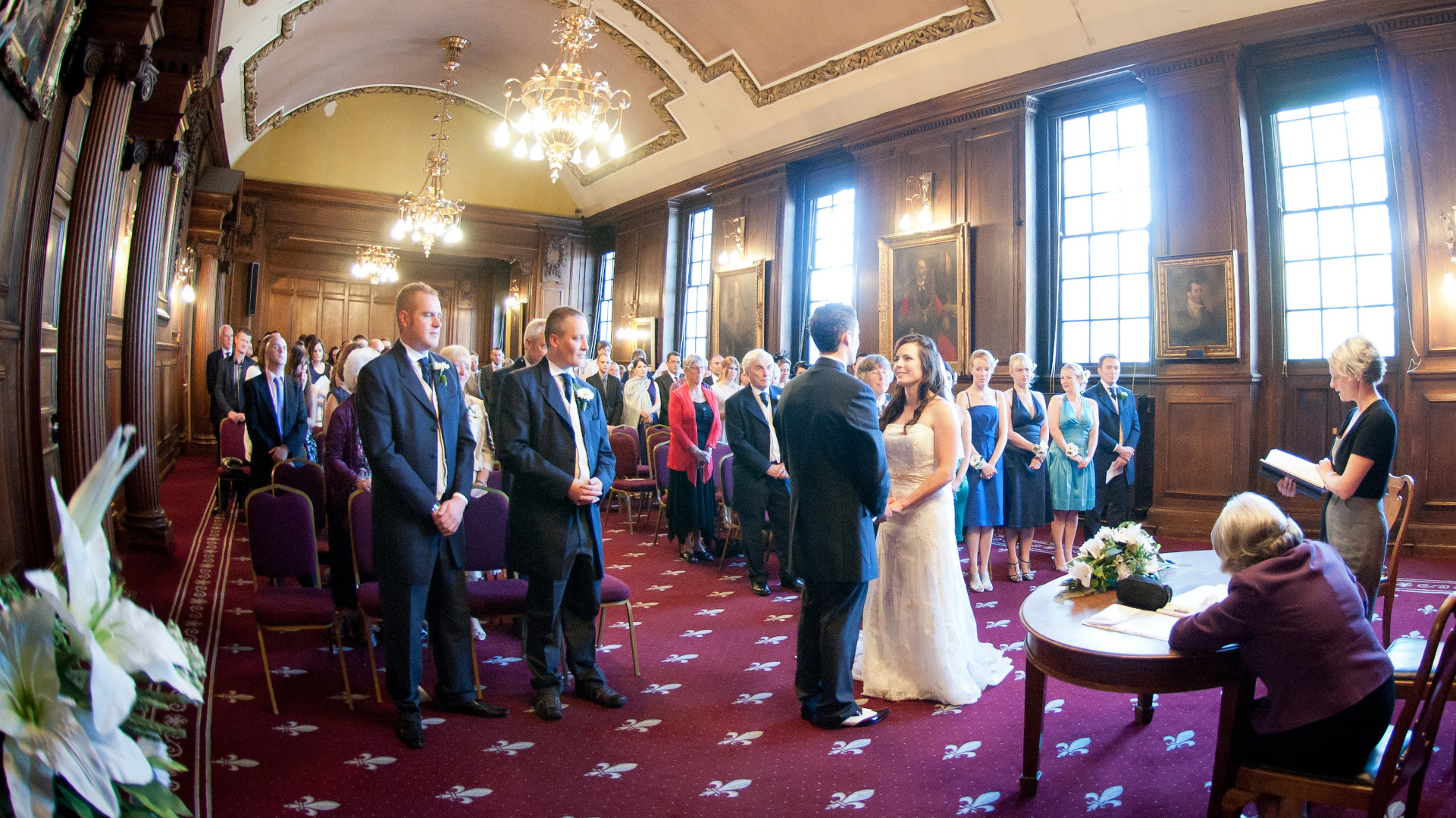 Wedding At Lancaster Town Hall