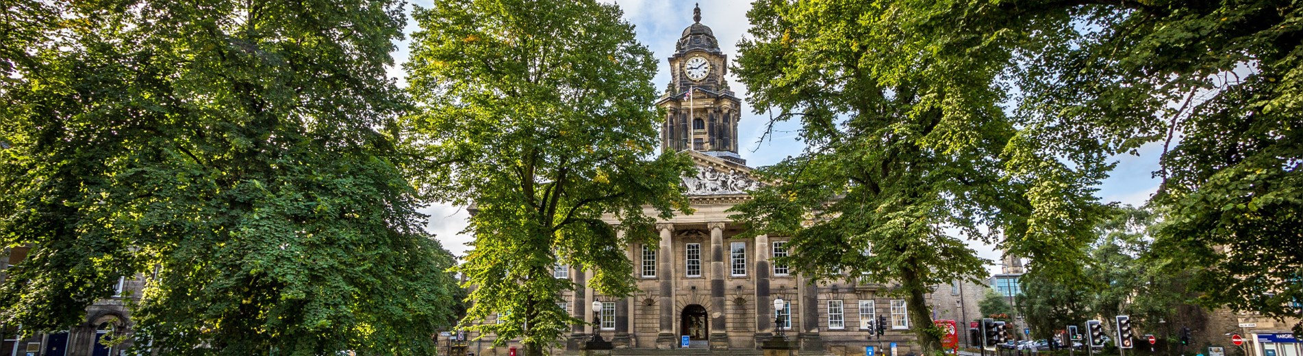 Lancaster Town Hall - widescreen