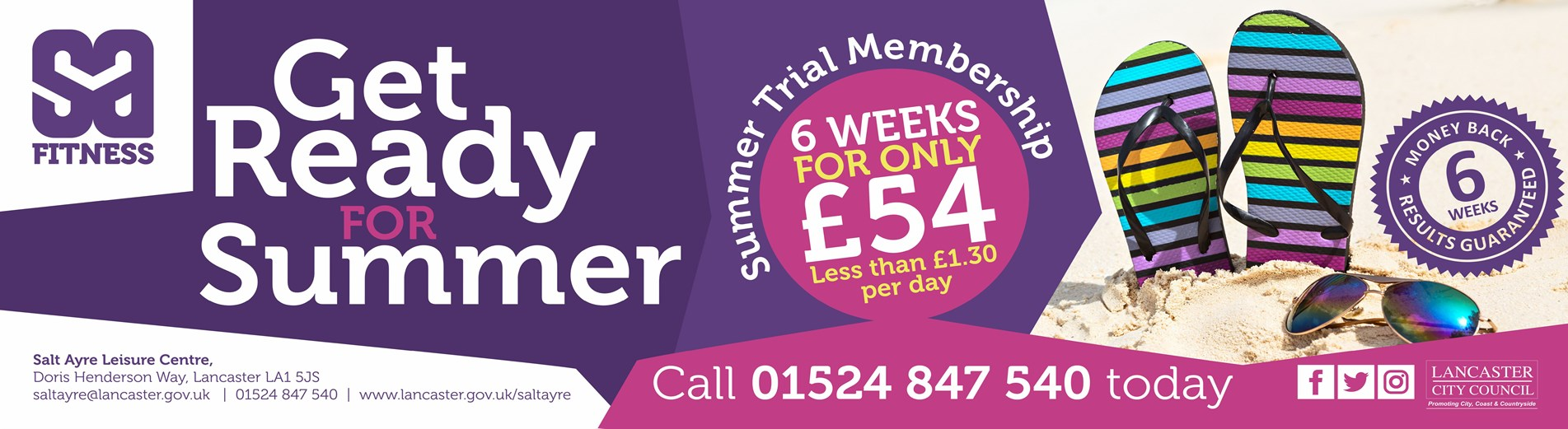 Summer SALC membership offer banner